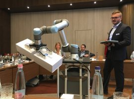 OnRobot met with the Hungarian professional press