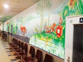 Néhány hét múlva megelevenednek a falak a Pécsi Gyermekklinikán