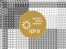 Újabb siker: pályázati anyagunk nyert az IPRA Golden World Awards-on!